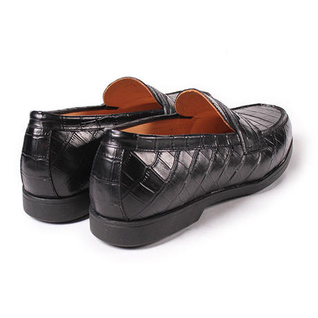 CS9014ST-01 / Black Embossed Leather | 42ND ROYAL HIGHLAND transfer