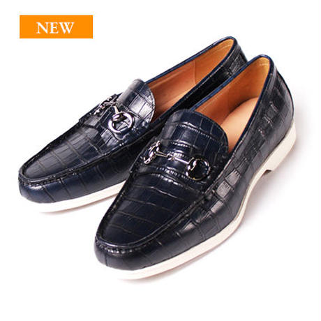 CS9015ST-31 / Navy Embossed Leather | 42ND ROYAL HIGHLAND transfer