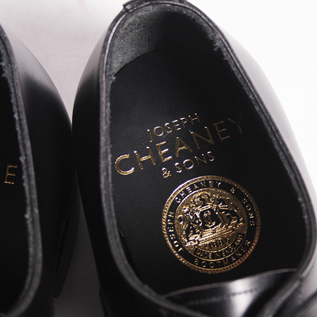ROGER / Black | JOSEPH CHEANEY made in England
