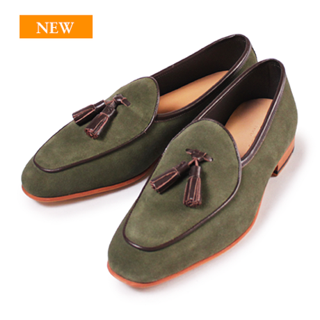 CS9012S-42 / Moss Green Suede | 42ND ROYAL HIGHLAND transfer