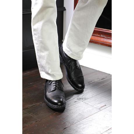 【 別冊2nd 革靴自慢2掲載】CHN7301E-01 / Black Shrink leather | 42ND ROYAL HIGHLAND Explorer