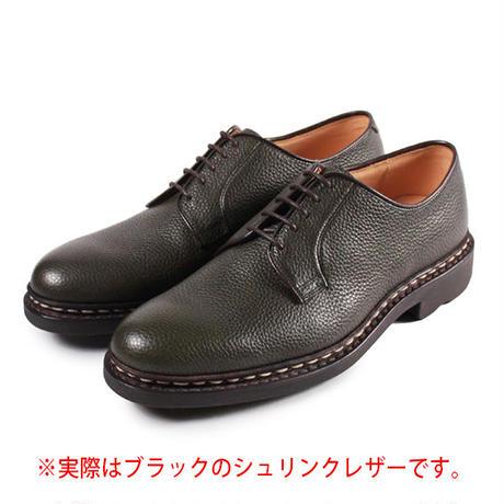 【 パターンオーダー※受注生産品 】CHN7201E-プレーントゥ /  ブラック Shrink leather | 42ND ROYAL HIGHLAND Explorer