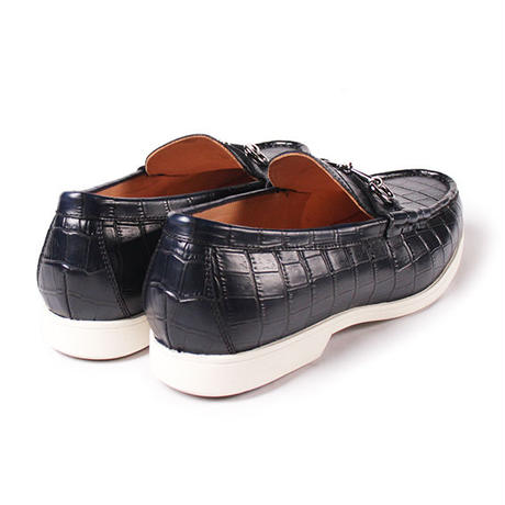 CS9015ST-31 / Navy Embossed Leather | 42ND ROYAL HIGHLNAD transfer