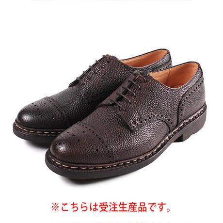 【 パターンオーダー※受注生産品 】CHN7301E-パンチドキャップトゥ /  ダークブラウン Shrink leather | 42ND ROYAL HIGHLAND Explorer