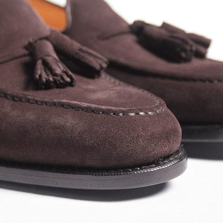 【 別冊2nd 『ローファー好きのための本』掲載 】 CH7003FS-11 / D.Brown Suede | 42ND ROYAL HIGHLAND Navy Collection