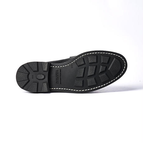 CHN0003E-01 / Black Shrink leather | 42ND ROYAL HIGHLAND Explorer
