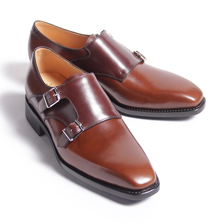 CH7102F-CB13 / Tan × D.Brown | 42ND ROYAL HIGHLAND Navy Collection