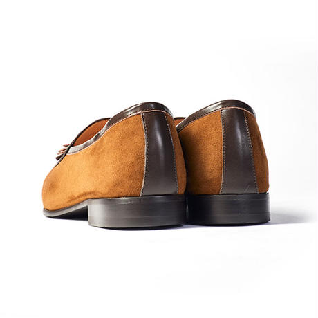 CS0002S-13 / Tan Sheep Suede × D.Brown Calf | 42ND ROYAL HIGHLAND transfer