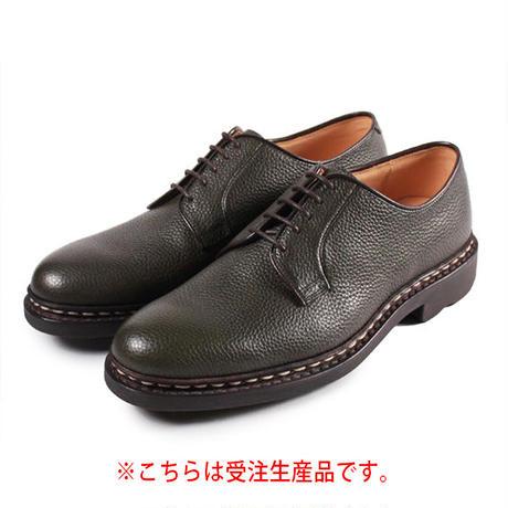 【 パターンオーダー※受注生産品 】CHN7201E-プレーントゥ /  モスグリーン Shrink leather | 42ND ROYAL HIGHLAND Explorer
