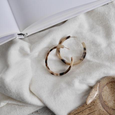 Buffalo horn earrings K10
