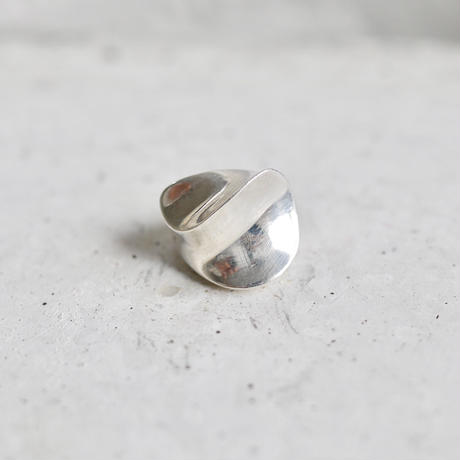 Found vintage silver ring