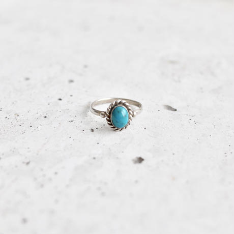 Found vintage turquoise ring