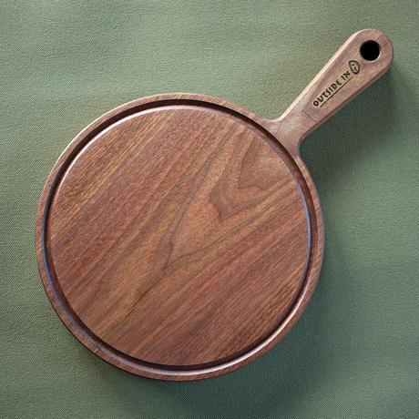 "OUTSIDEIN Chop n' Serve /Round ""Walnuts""(チョップアンドサーブ/ラウンド/ウォルナット)"
