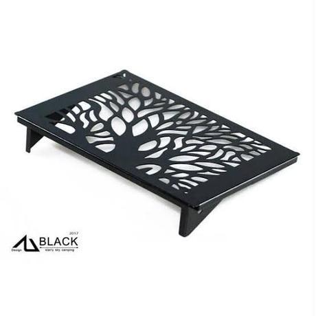 BLACK DESIGN 合舎DIY+プレート(ツリー2枚)セット ※他商品との同梱不可