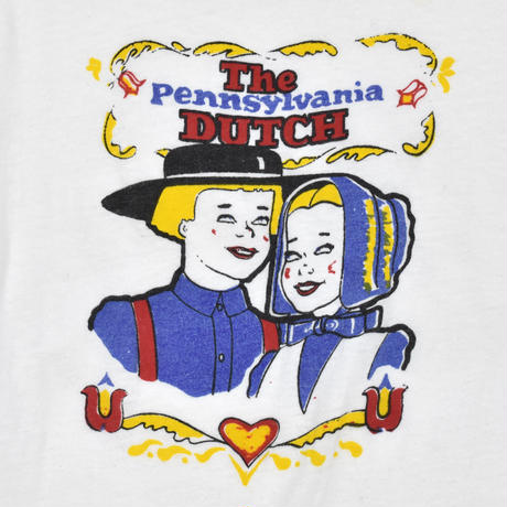 "USED ""EARLY 80'S / THE PENNSYLVANIA DUTCH"" T-SHIRTS"