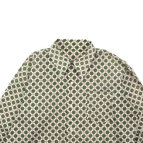 USED 70'S PATTERN POLY SHIRTS