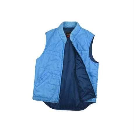 """USED """"70'S SEARS"""" QUILTING NYLON VEST"""