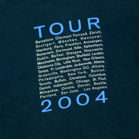 "USED ""ERIC CLAPTON / TOUR 2004"" T-shirt"