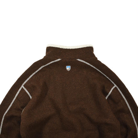 "USED ""KUHL"" HALF ZIP FLEECE PULLOVER"