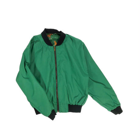 """USED """"INFINITY CHIC"""" REVERSIBLE COTTON BOMBER JKT"""