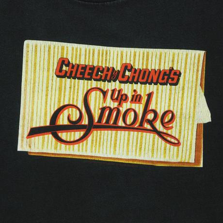 """USED """"CHEECH&CHONG'S UP IN SMOKE"""" TEE"""