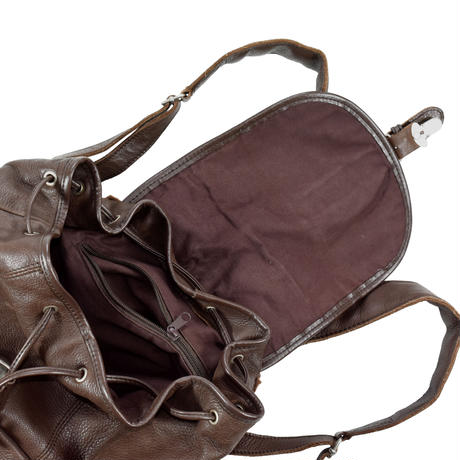 USED LEATHER BACKPACK