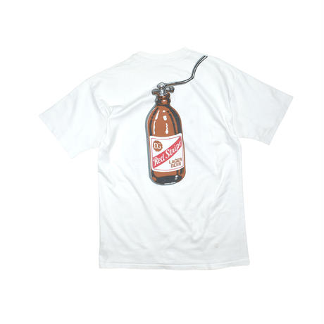"""USED """"RED STRIPE"""" T-SHIRTS"""