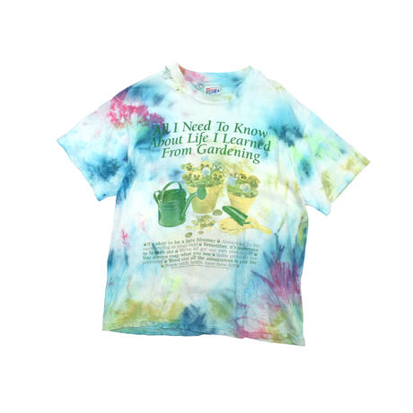 "USED ""90'S PORTAL PUBLICATIONS"" TYE-DYE T-SHIRT"
