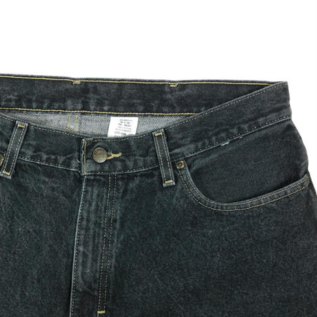 """USED """"FADED GLORY"""" RELAXED FIT BLACK DENIM"""