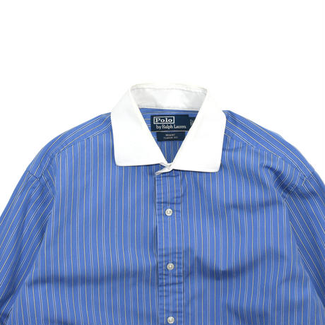 "USED ""POLO RALPH LAUREN"" WHITE COLLAR SHIRT"