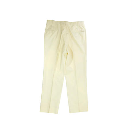 "USED ""70'S IZOD LACOSTE"" COTTON TROUSERS"
