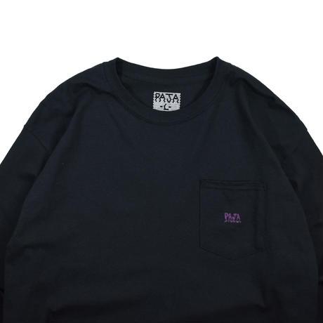 "PAJA STUDIO ""1000% Logo Ghost ver"" POCKET L/S T-shirt"