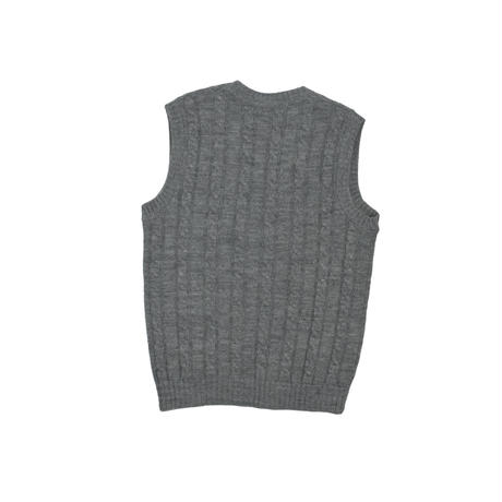 """USED """"THE COUNTRY SQUIRE / JANTZEN"""" CABLE KNIT VEST"""