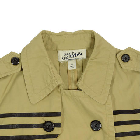 "LADIES USED ""JEAN PAUL GAULTIER""TRENCH COAT"