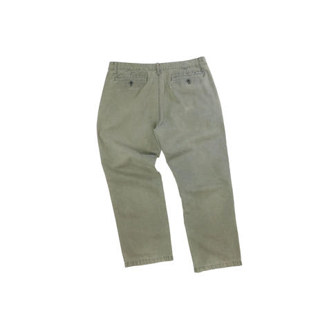 """USED """"EDDIE BAUER"""" SPECIAL DYE STRAIGHT TROUSERS"""