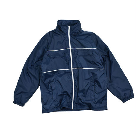"USED ""90'S VENGO"" NYLON FLEECE JACKET"
