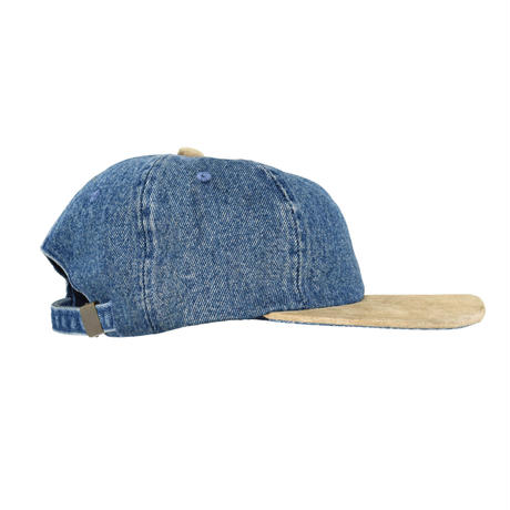 "USED ""ATT HEADWEAR"" 6PANEL DENIM CAP"