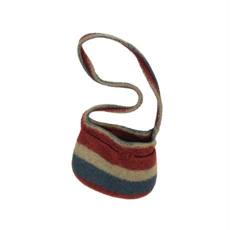 USED HAND MADE WOOL BAG