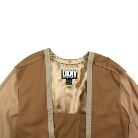 "USED ""90'S DKNY"" OVER TRENCH COAT"