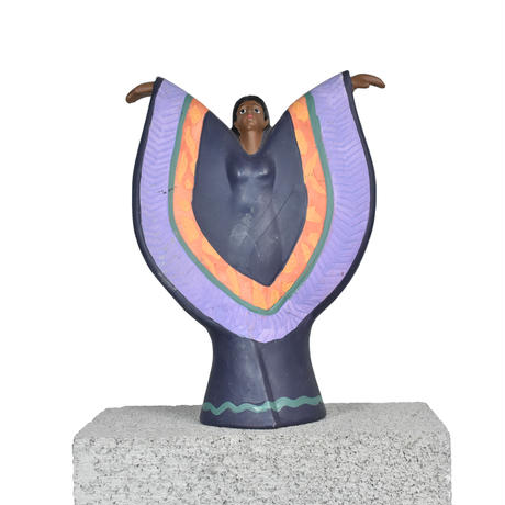 AFRICAN LADY STATUE