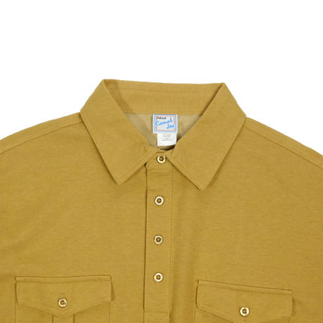 "USED ""CASUAL JOE"" FAKE PLEATS POCKET POLO"