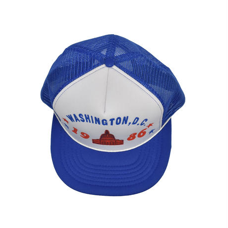 "USED ""WASHINGTON, D.C. 1986"" MESH CAP"