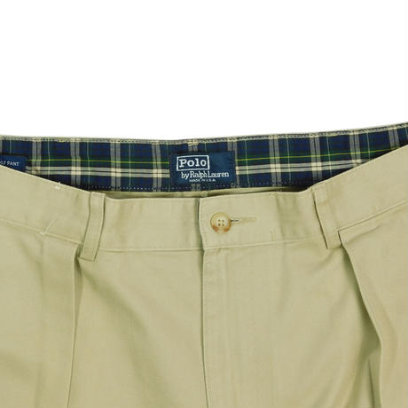 """USED """"80'S POLO RALPH LAUREN"""" IN 2TUCK TROUSERS"""
