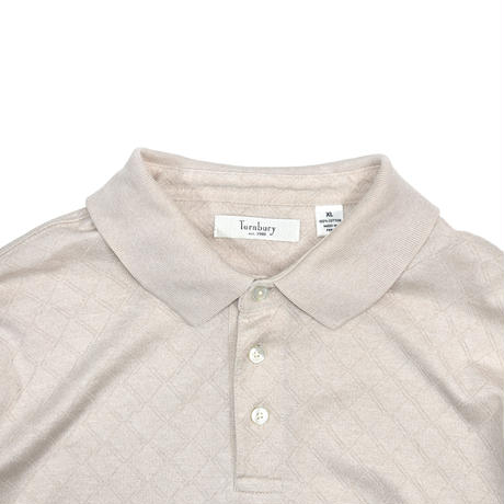 "USED ""TURNBURY"" L/S POLO SHIRT"