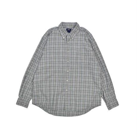 "USED ""BASS"" FLANNEL CHECK SHIRTS"