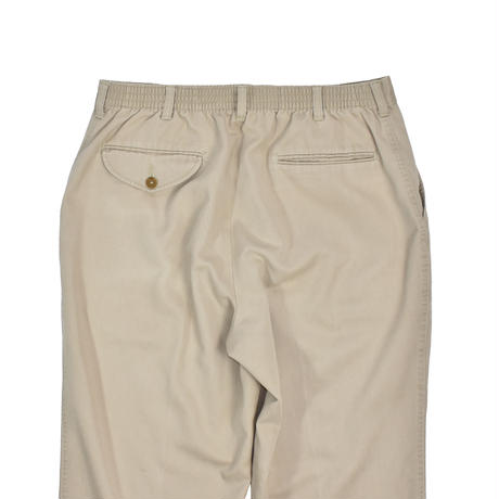"""USED """"TOWNCRAFT"""" COTTN POLY EASY PANTS"""