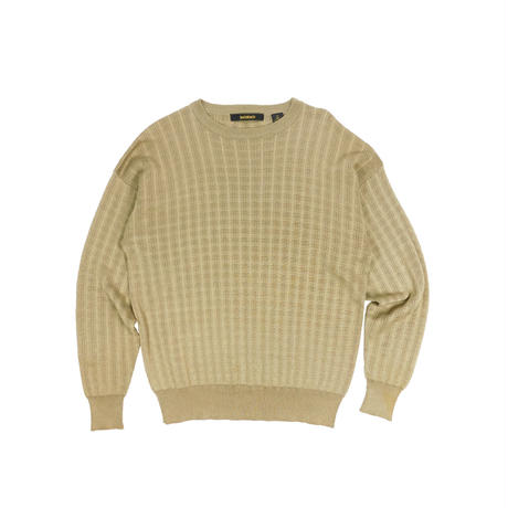 "USED ""BACHRACH"" SUMMER CREW NECK KNIT"