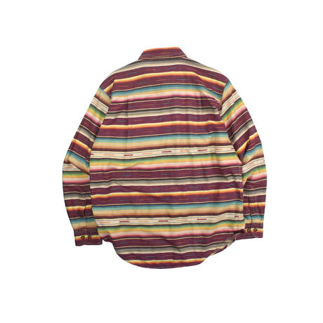 """USED """"THE TERRITORY AHEAD"""" PATTERN SHIRT"""