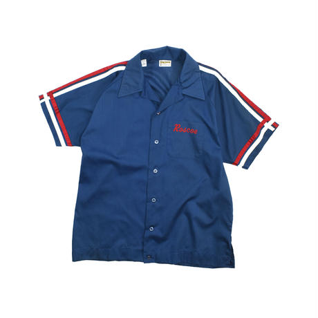 """USED """"70'S KING LOUIE"""" BOWLING S/S SHIRT"""