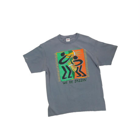 "USED ""NEW ORLEANS / WE BE JAZZIN"" T-shirt"